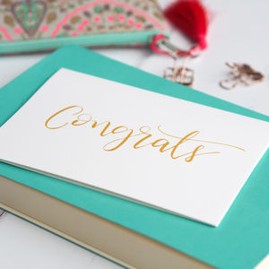 Congrats Card - congratulations cards
