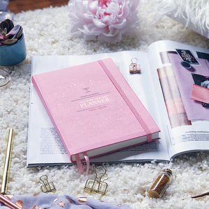 Ceo Of My Own Life® Planner | Undated And Weekly | Rose - 21st birthday gifts
