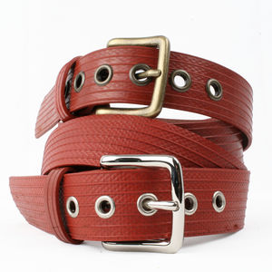 Reclaimed Fire Hose West End Belt - belts