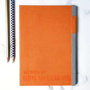Words By Me Personalised Notebook Journal