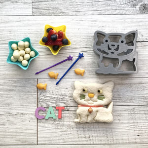Bento Starter Sets For Kids. Dog Or Cat - kitchen accessories