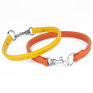 Soft Leather House Collar - dog collars