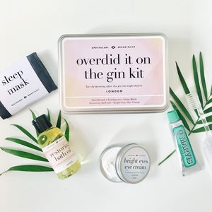 Overdid It On The Gin Survival Kit - our favourite gin gifts
