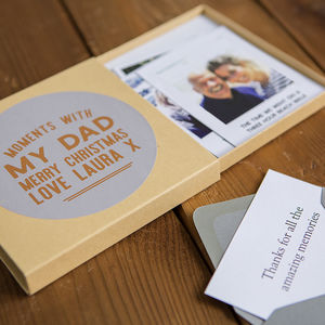 Moments With Dad Memory Box - gifts for him sale