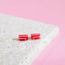 London Bus Earrings