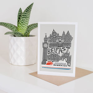 Belfast City Greeting Card