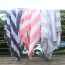 Personalised Stripe Hammam Towels