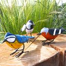 Handpainted Bird Sculpture