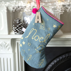 Shooting Star Christmas Stocking - new in christmas