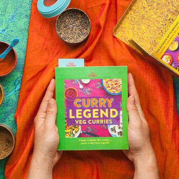 The Spicery's Curry Legend Veg Cookbook Kit