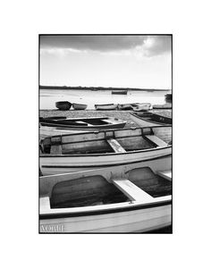 Boats, Orford Ness, Suffolk Photographic Art Print