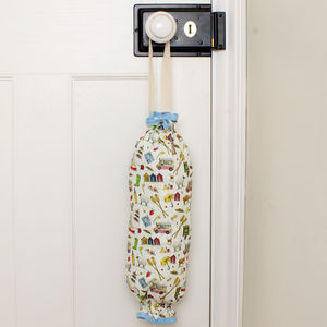 Brilliantly British Plastic Bag Holder - storage & organisers