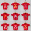 Personalised Red Pirate T-Shirts