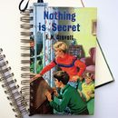 'Nothing Is Secret' Upcycled Notebook