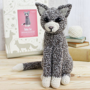 Cat Crochet Kit - traditional toys & games