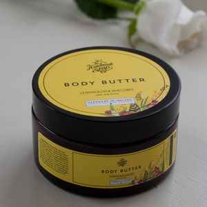 Lemongrass And Bergamot Body Butter - skin care