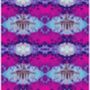 Modern Tie 1916 G.P.O Print In Pink