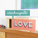 Inspirational Words Wooden Light Box