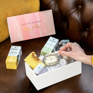 Create Your Own Birthday Personalised Organic Gift Box