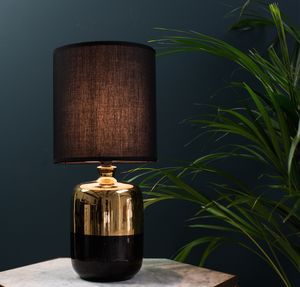 Black To Gold Table Lamp