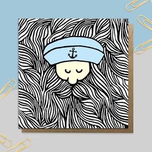 Bearded Sailor Card
