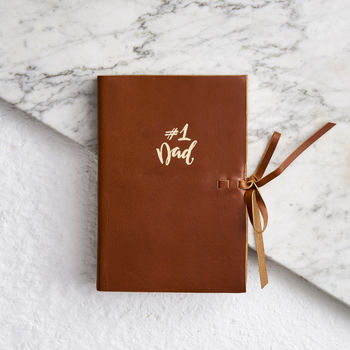 Dad Leather Notebook