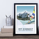 Mount Everest, Base Camp, Nepal Print