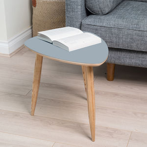 Pebble Shaped Mid Century Style Side Table - furniture