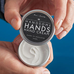 'Handsome Hands' Hand Cream - men's style sale edit
