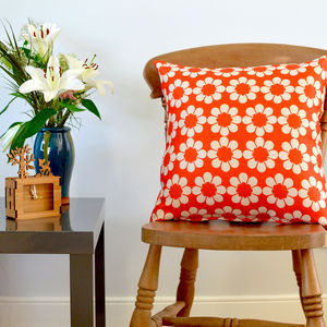 Isobel's Vintage Flowers Cushion - cushions