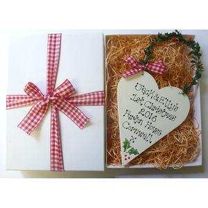 Personalised Christmas Keepsake - wrapping