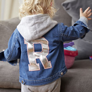 Personalised Initial Denim Jacket
