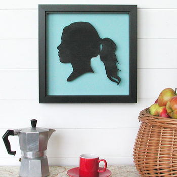 Three Dimensional Personalised Portrait