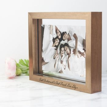 Personalised Copper Bridesmaids Photo Frame