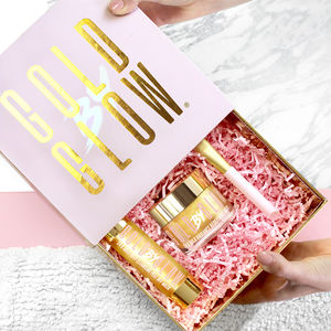24k Gold Skin Facial Treatment Gift Set - gift sets