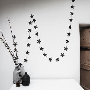 Star Garland - bunting & garlands