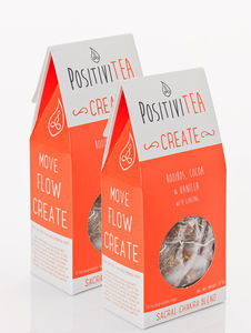 'Create' Sacral Chakra Tea Two Packets