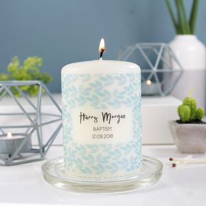 Christening Candle Gift For Boys And Girls
