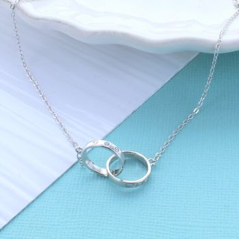 Love Infinity Link Necklace
