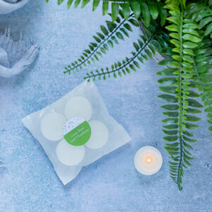 Eight Lime, Basil And Mandarin Soy Wax Tealights