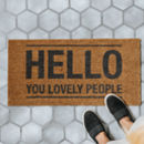 Hello You Doormat