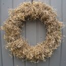 Grey Moss Wreath