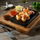 The Sizzling Hot Stone Starter Set Lava And Bamboo