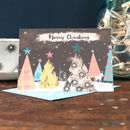 a pack of personalised family christmas cards by inkpaintpaper