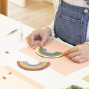 Rainbow Craft Kit For Adults And Kids