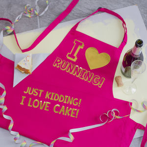Personalised 'I Love' Apron - aprons
