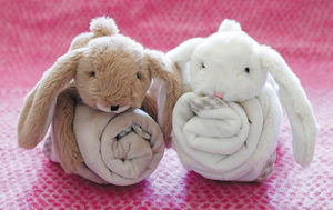 Toy Soother Blanket Bunny, Bear Or Sheep - more
