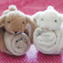 Toy Soother Blanket Bunny, Bear Or Sheep