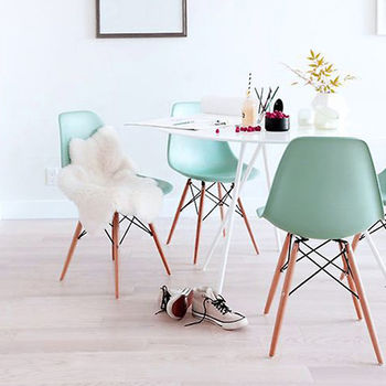 Spring Pastel Dining Chair Set Two