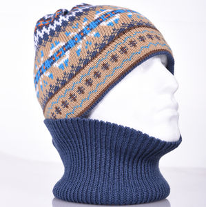 Jig Jag Merino Wool Balaclava - hats & gloves